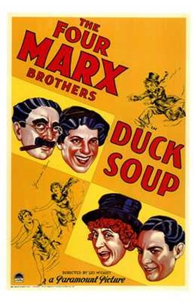 Framed Duck Soup Print