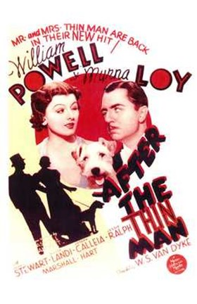 Framed After the Thin Man - William Powell Print