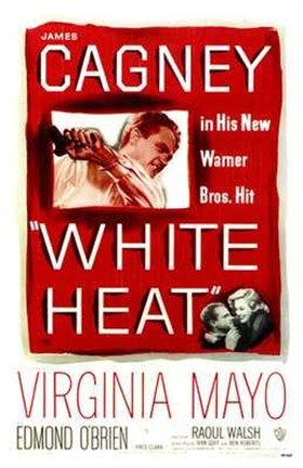 Framed White Heat Print