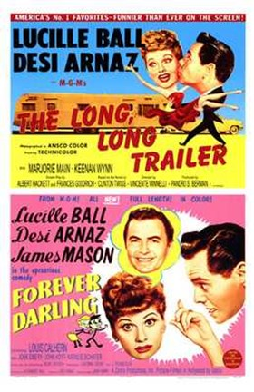 Framed Long  Long Trailer  the - Forever Darlin Print