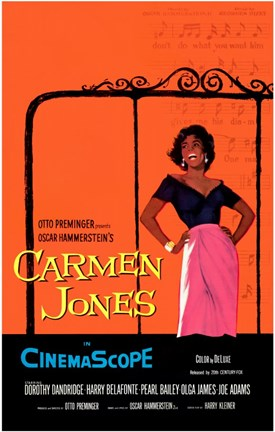 Framed Carmen Jones Print