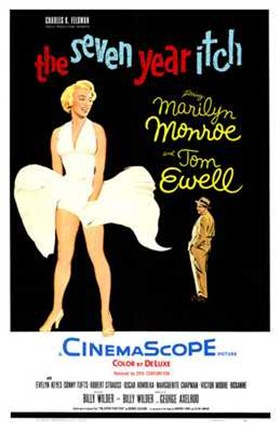 Framed Seven Year Itch - style B, c.1955 Print