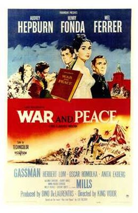 Framed War and Peace Print