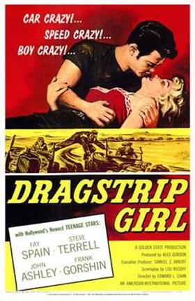 Framed Dragstrip Girl Print