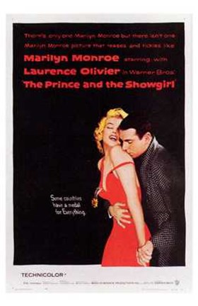 Framed Prince and the Showgirl Laurence Olivier Print