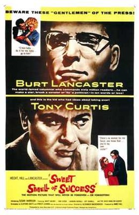 Framed Sweet Smell of Success Print