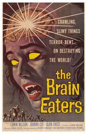 Framed Brain Eaters Print
