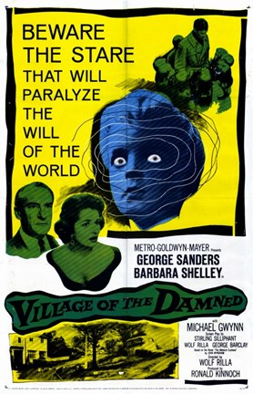 Framed Village of the Damned Print