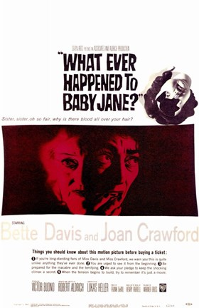 Framed Whatever Happened to Baby Jane - broken doll face Print