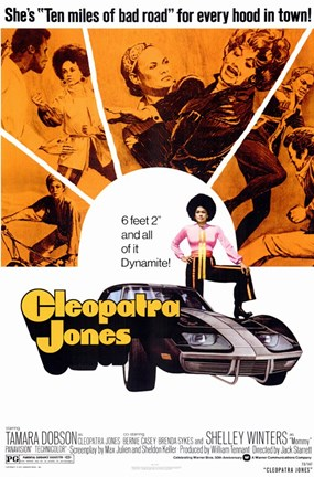 Framed Cleopatra Jones, c.1973 - style A Print