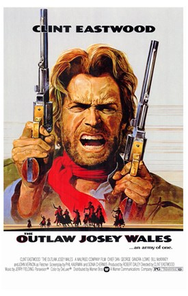 Framed Outlaw Josey Wales Print