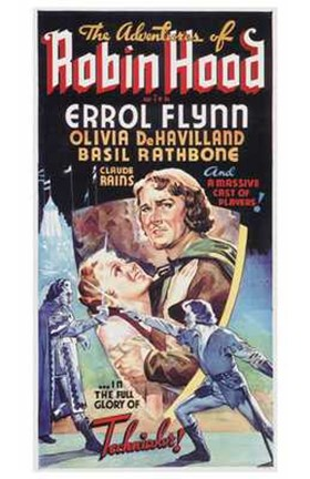 Framed Adventures of Robin Hood Olivia DeHavillard Print
