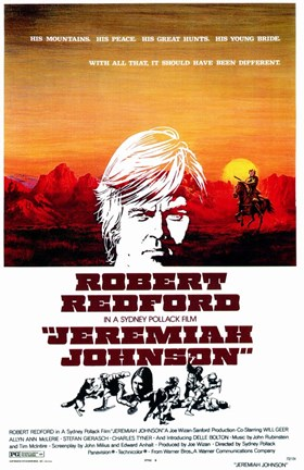 Framed Jeremiah Johnson Print