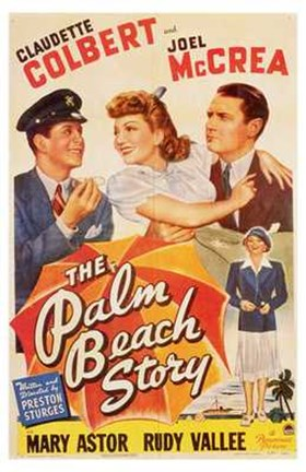 Framed Palm Beach Story Print