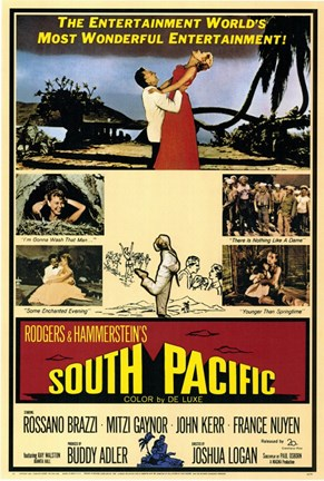 Framed South Pacific Print