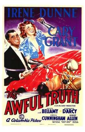 Framed Awful Truth Print