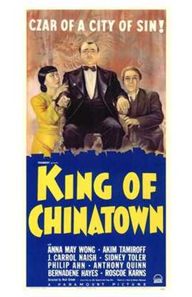 Framed King of Chinatown Print