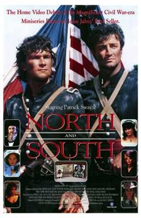 Framed North and South Book 1 Print