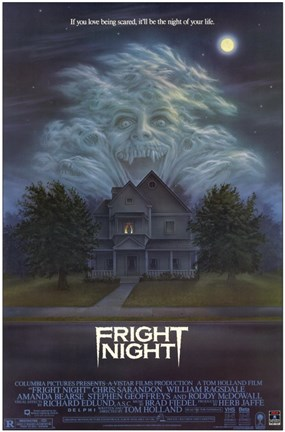Framed Fright Night Print