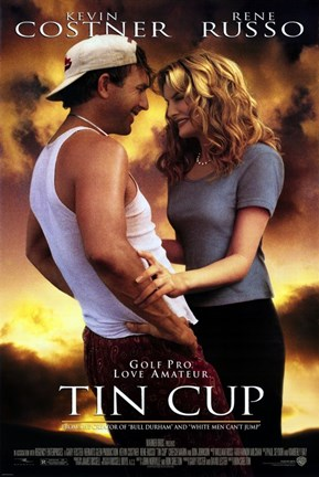 Framed Tin Cup (movie poster) Print