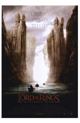 Lord Of The Rings Fellowship Of The Ring The Legend Comes