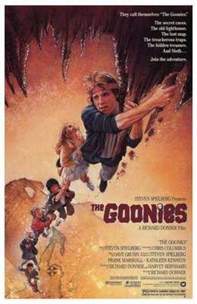 Framed Goonies - They call themselves Print
