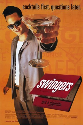Framed Swingers By Doug Liman Print