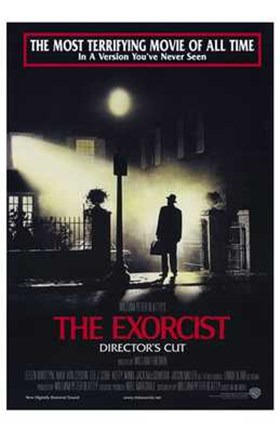 Framed Exorcist Red Print