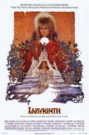 Framed Labyrinth Print