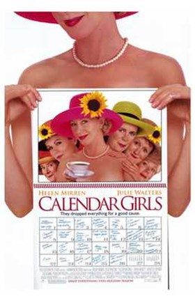 Framed Calendar Girls Film Print