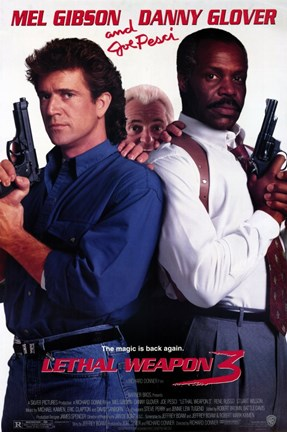 Framed Lethal Weapon 3 Print