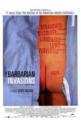 Framed Barbarian Invasions - butt Print