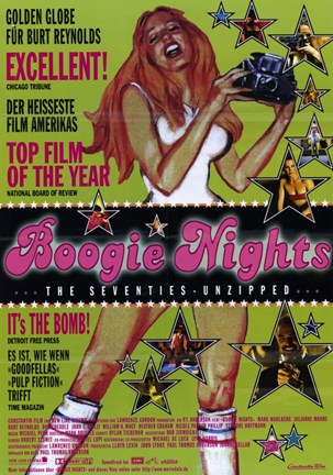 Framed Boogie Nights - It's the bomb! Print