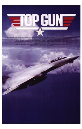 Top Gun Fighter Jet Wall Poster By Unknown At
