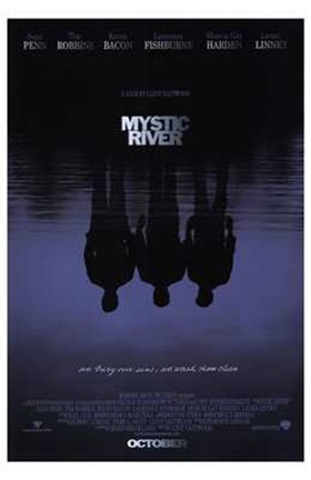 Framed Mystic River Print