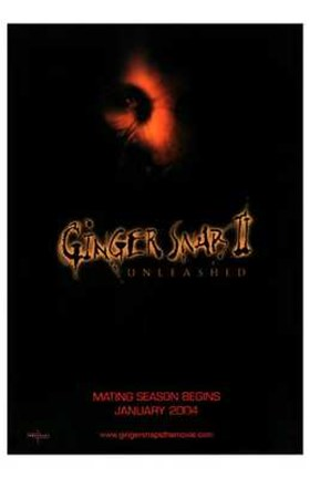 Framed Ginger Snaps II: Unleashed Print