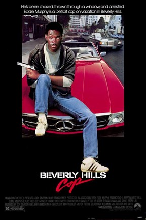 Framed Beverly Hills Cop Print