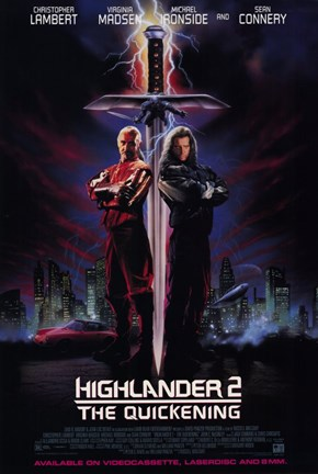 Framed Highlander 2: the Quickening Print