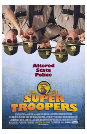Framed Super Troopers Print