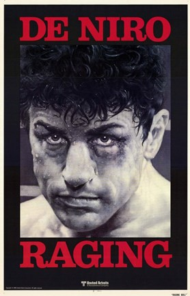 Framed Raging Bull De Niro Raging Print