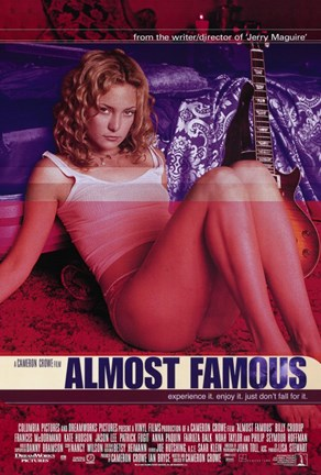 Framed Almost Famous Print