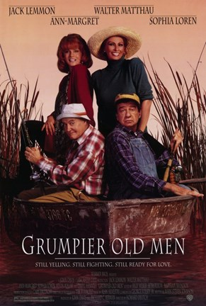Framed Grumpier Old Men Print