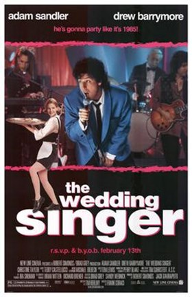 Framed Wedding Singer Print