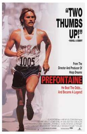 Framed Prefontaine Print