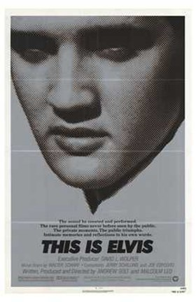 Framed This is Elvis (movie poster) Print