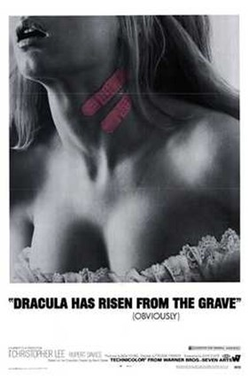 Framed Dracula Has Risen from the Grave Print