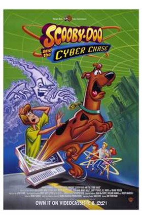 Framed Scooby-Doo and the Cyber Chase Print
