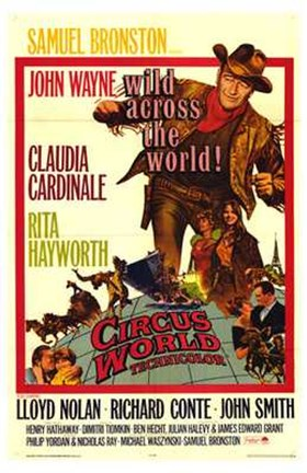 Framed Circus World Print