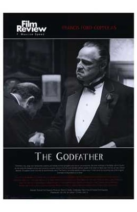 Framed Godfather Film Review Print