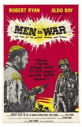 Framed Men in War Print